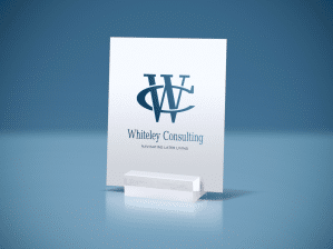 """Logo Design for Consulting Company """"Whiteley Consulting"""""""