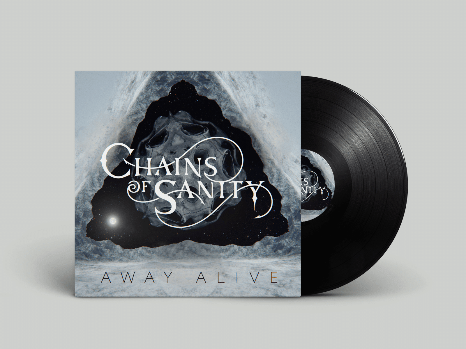 Album Cover Design for Metal Band Chains of Sanity