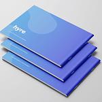 """Brand Book for Locum Booking App """"Hyre"""""""