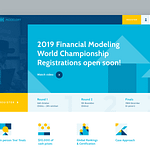 "Web Design for Financial Competitions Website ""ModelOff"""