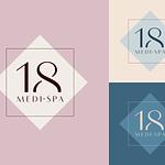 "Logo Design for Health Spa ""18 Medi Spa"""