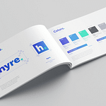 "Logo and Brand Book for Locum Booking App ""Hyre"""