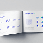 """Iconography, Typography and Brand Book for Locum Booking App """"Hyre"""""""