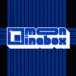 """Logo Design for Video Production Company """"Moon in a Box"""""""