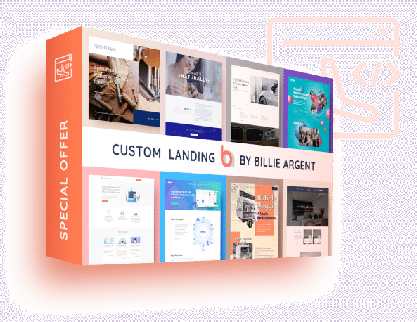 Custom Landing Page Design Offer