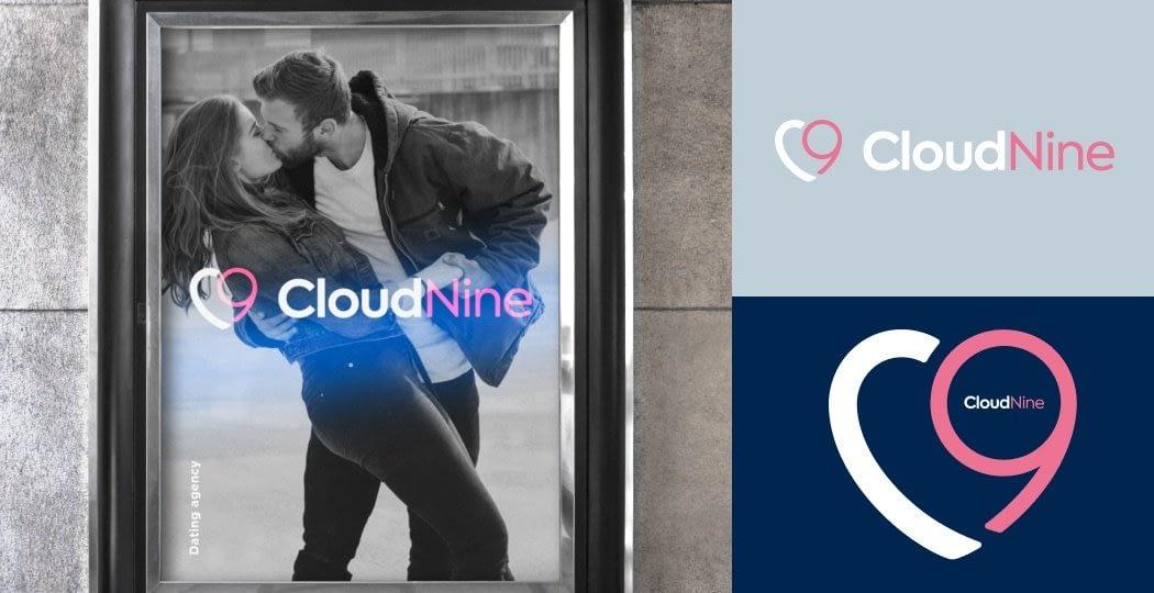 "Logo Design for Dating App ""CloudNine"""