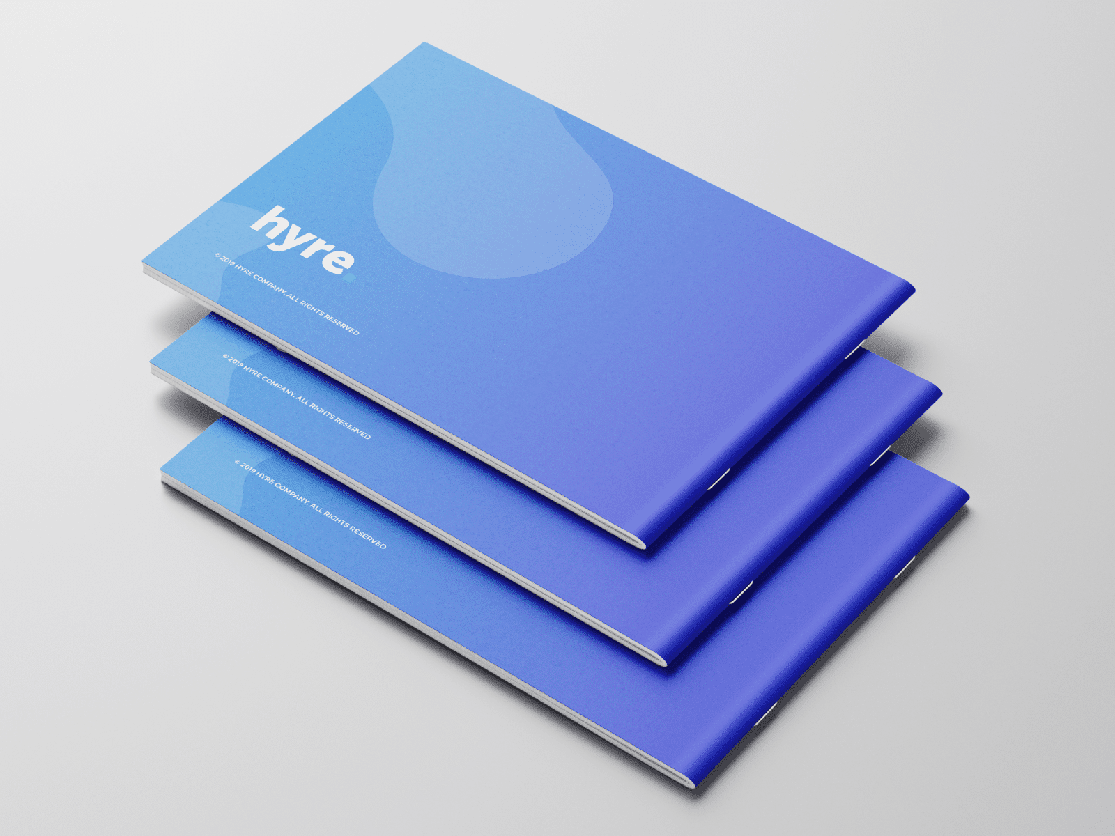 "Brand Book for Locum Booking App ""Hyre"""