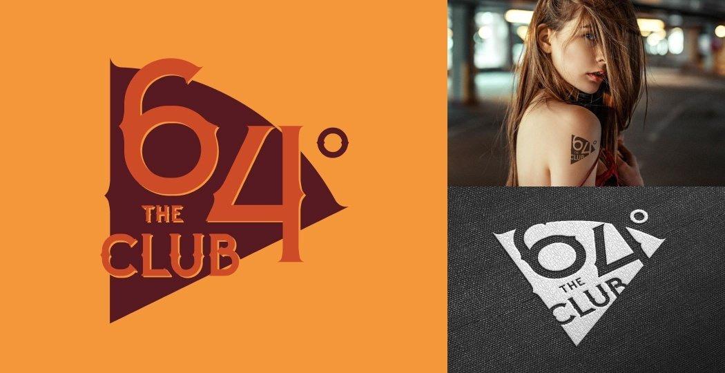 "Logo Design for Womens Biker Club ""64 Club"""