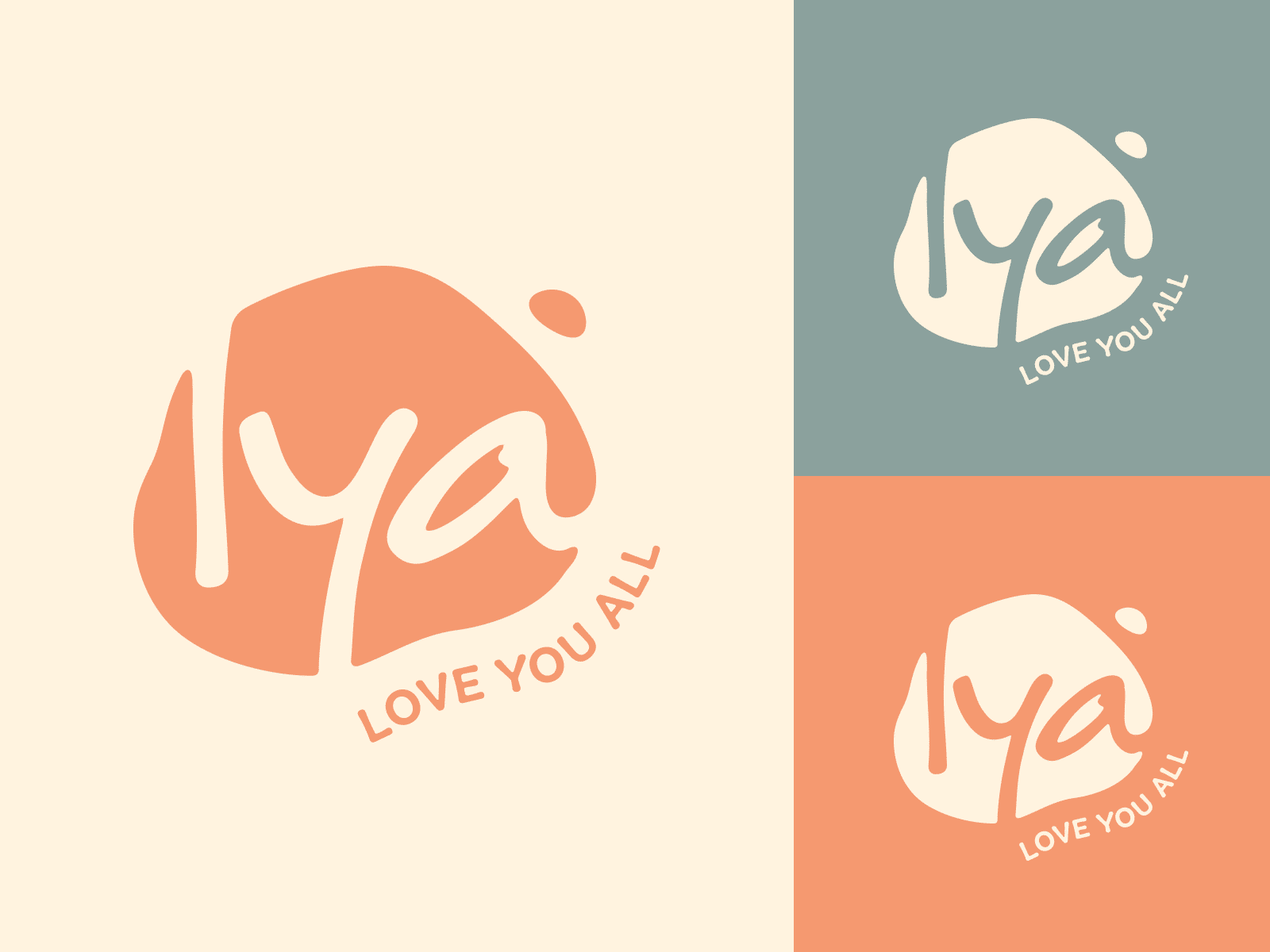 "Logo Design for Clothing Brand ""Love You All"""